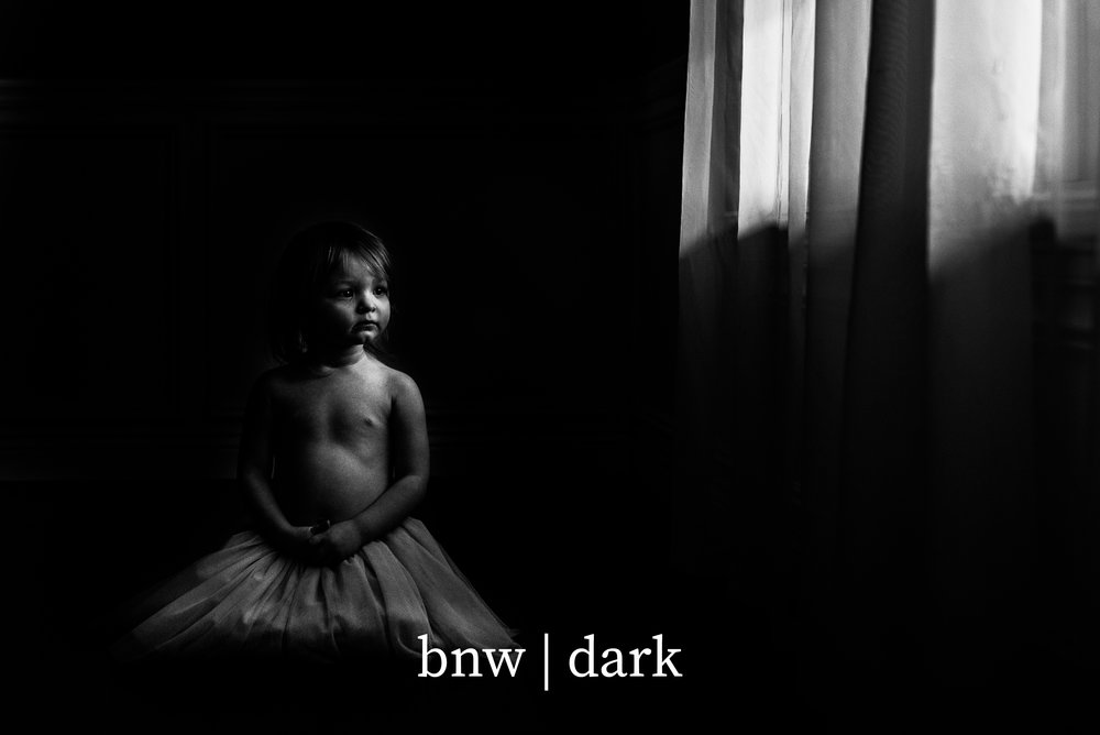bnw | dark   - this is   bnw | light 2.0  . Deeper. Stronger. Emotive. Moody. The End.You're Welcome!