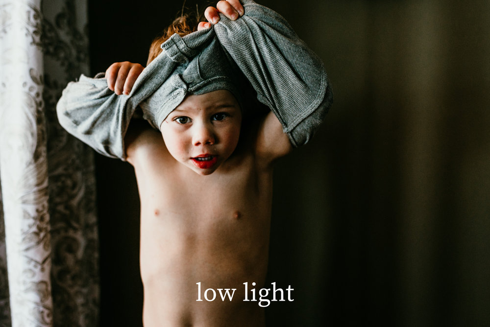 low light   - you no longer have to be afraid to capture those precious moments with a limited light source.   low light   retains those moody shadows and emphasizes the highlights that you thought were impossible to maintain in just one-click.