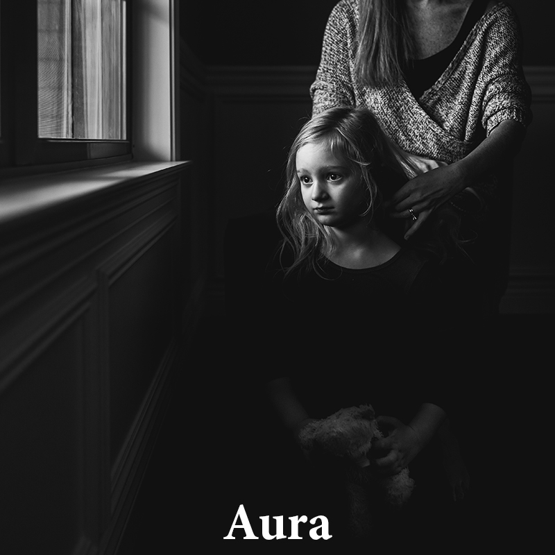 Aura: Beautiful contrast & clarity with a light matte finish