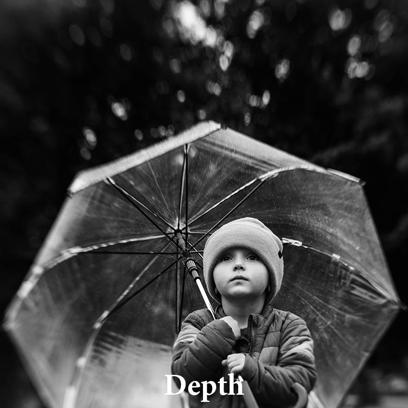 Depth: Darkens & dehazes for images that pop