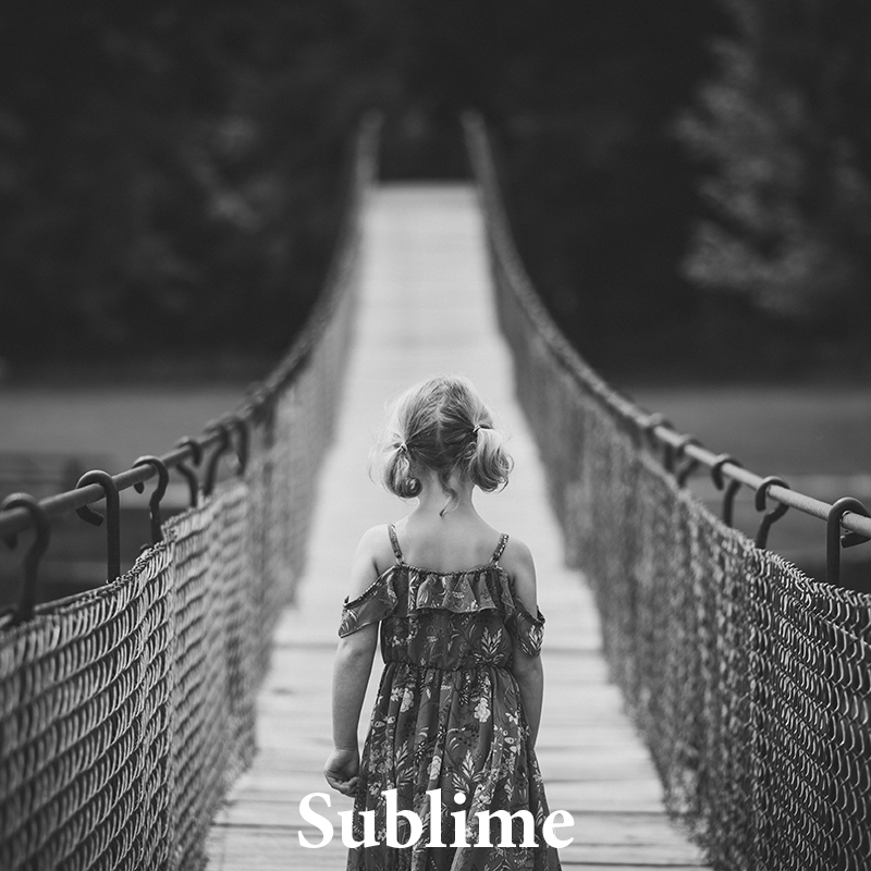 Sublime: Pure & artistic with a filmy finish