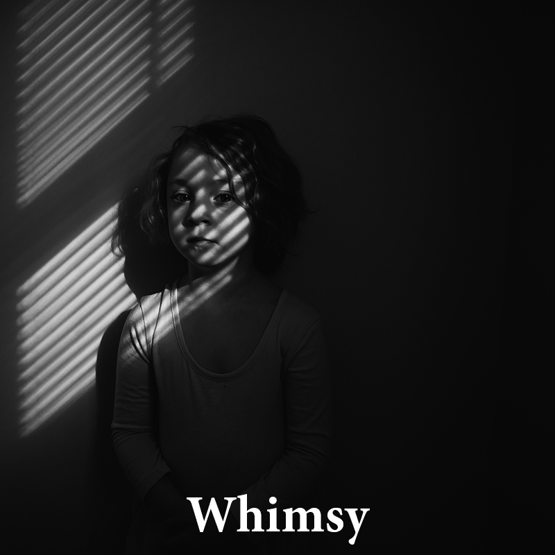 Whimsy: Pleasant, playful & intensely beautiful