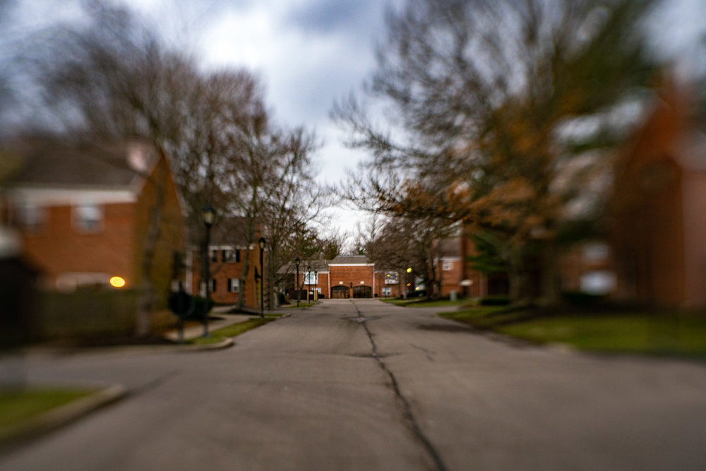 Same view, but used Lensbaby for surreal effect