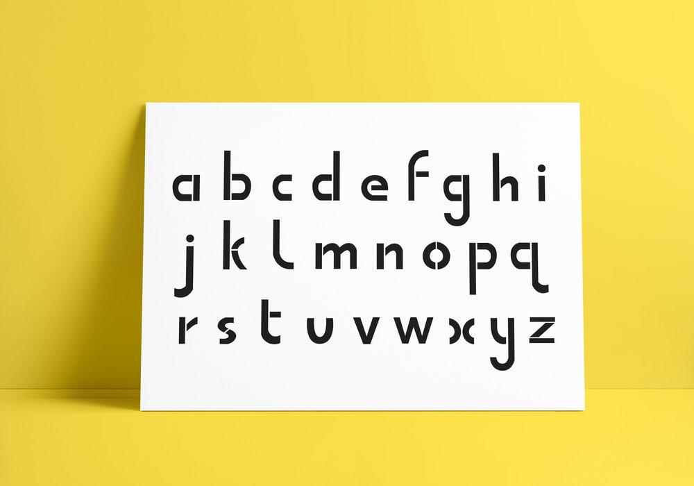 TYPEFACE DESIGN -