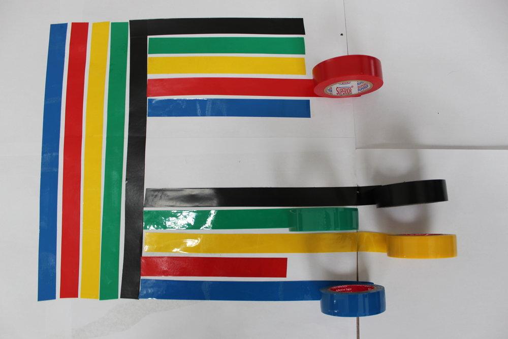 Using tape