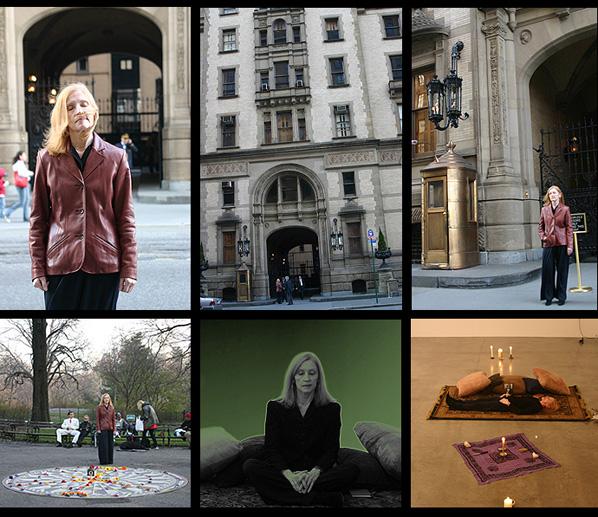 The Dakota, Lennon's home; Strawberry Fields, Central Park, Luhrenloup seance