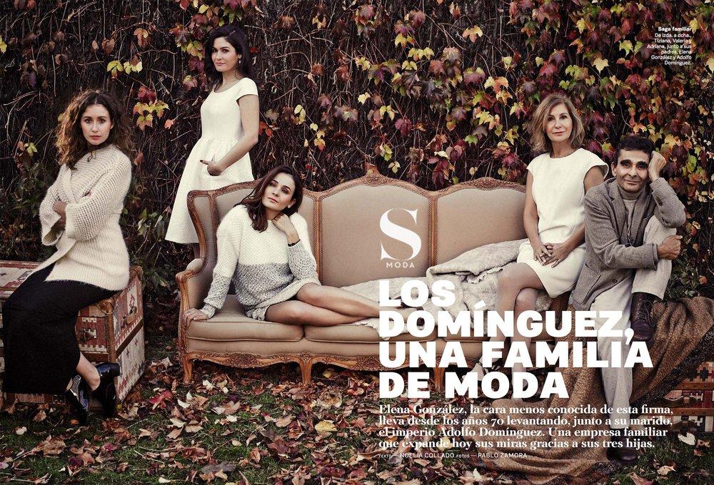 Los Domínguez, una familia de moda - SMODAElena González, la cara menos conocida de esta firma, lleva desde los años 70 levantando, junto a su marido, el imperio Adolfo Domínguez. Una empresa familiar que expande hoy sus miras gracias a sus tres hijas.Leer más