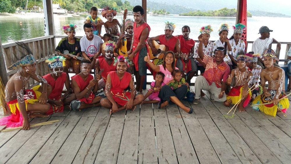 MahaRaja Eco Dive Lodge - Papuan culture