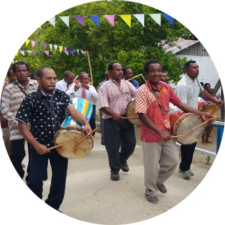 Musical festivities - Getting to know the culture of Papuans in Raja Ampat at the MahaRaja Eco Dive Lodge
