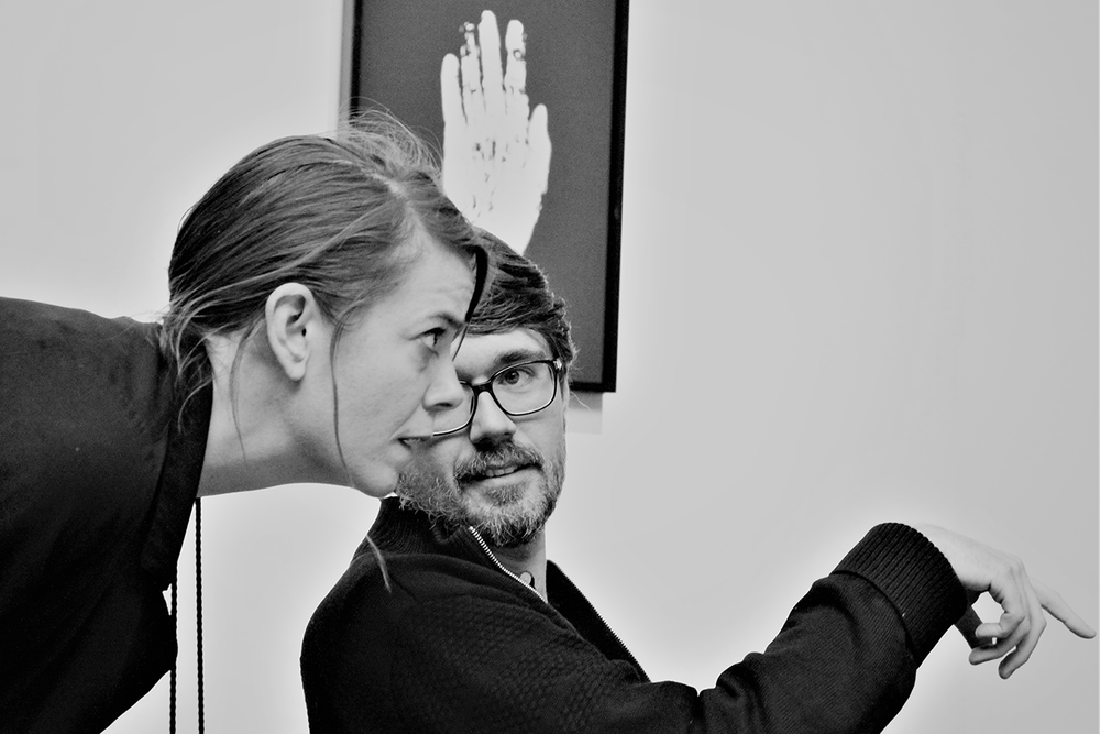 Morten Riis & Marie Højlund, photo by Agnete Seerup