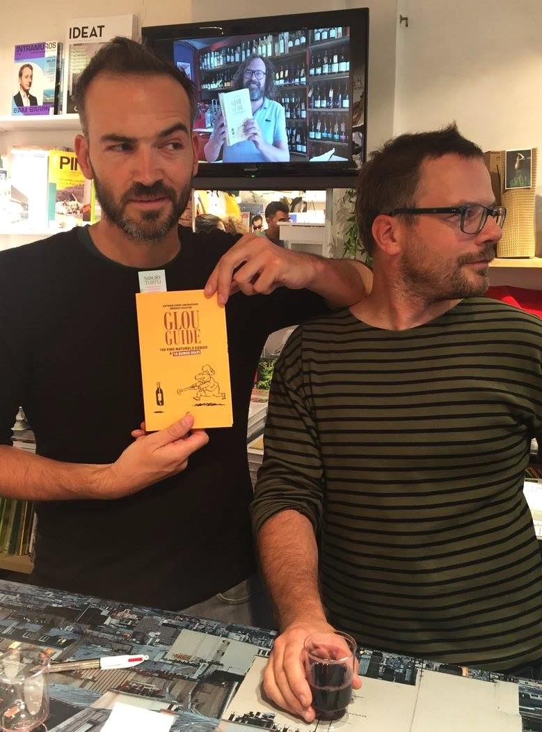 Antonin Iommi-Amunategui et Jérémie Couston, auteurs du Glou Guide