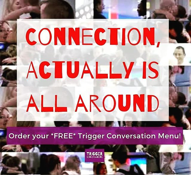 Have you ordered your *free* Trigger Conversations Christmas Menu for guaranteed deep, adventurous conversations under the mistletoe this year? Last orders in tonight at 5.30pm GMT! . 👉Get yours here: https://olivia656.typeform.com/to/DXGmh8 . . #ConnectionActuallyIsAllAround #connection #triggerchristmas #triggertribe #triggerconversations #goodbyesmalltalk #deepconversations #conversationstarter #conversationmenu #christmasgiftsideas #christmasgifts #xmas #xmasgifts #alliwantforchristmas #loveactually #legacy #WorldOfIf #adventure #relationship #reflection #freegiveaway