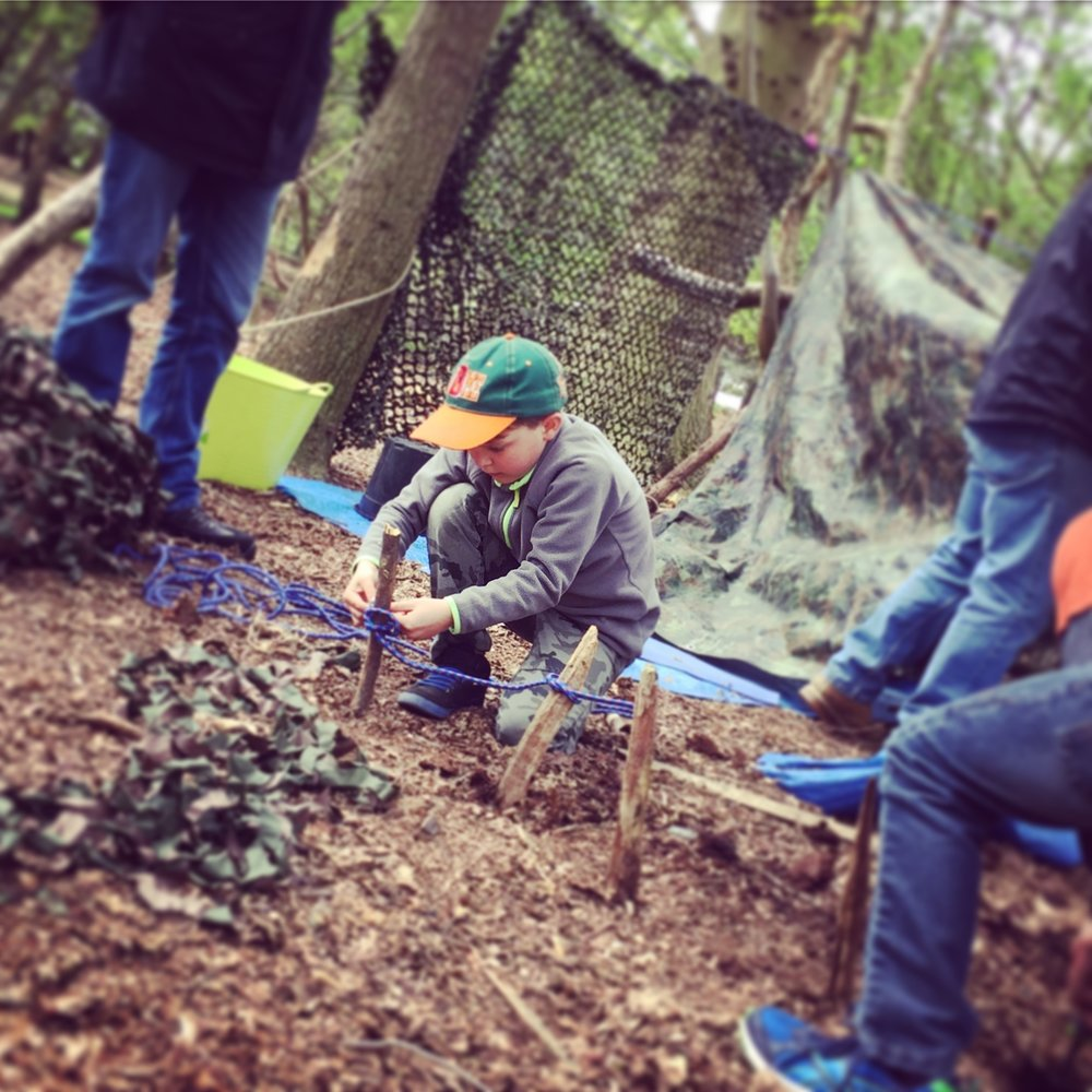 Wild Kids! -  HOLIDAY WORKSHOPS SUITABLE FOR kids AGED 5 YEARS +wild tribe den building, pizza cookery, bushcraft, survival skills, mini beast training, fire lighting and outdoor gaming...we have it covered! MIXED AGE GROUPS AVAILABLE.