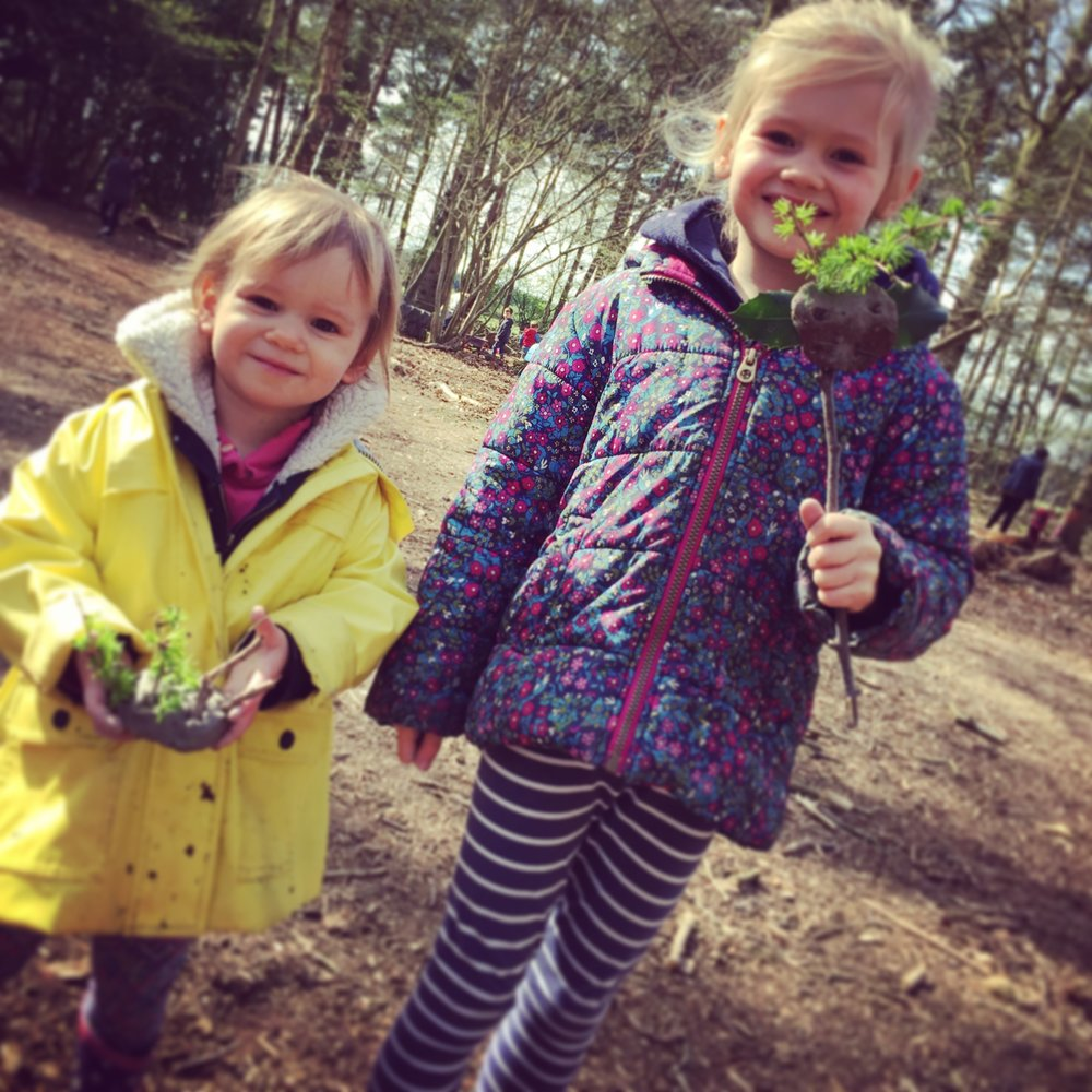 Wild Tots! - WORKSHOPS SUITABLE FOR TOTS (AGED 1-5 YEARS) & their parents/carers!Structured activities, free play opportunities and plenty of muddy fun Around the GroWild campfire.Termly and voucher bookings available.