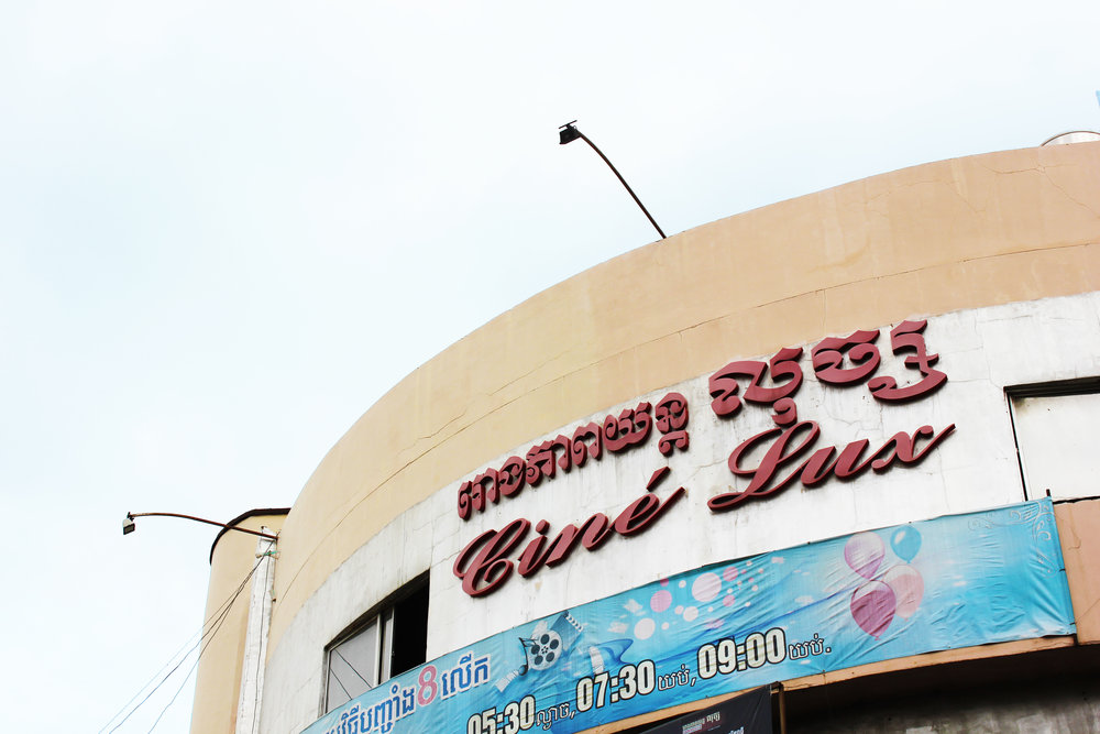 phnom penh - lux cinema - Located along Norodom Boulevard, Lux was one of the most famous cinemas in Phnom Penh. Originally constructed in 1938, it has a total of 650 seats. Cine Lux was used until the early 1990s for variety of activities including film screening and Theatre performances. It re-opened in 2001 after renovations. In recent years it showed Thai horror movies, Khmer-dubbed. For a long time, Cine Lux was the only old cinema that has survived in Phnom Penh and still showing movies. But in 2017 it closed, and it's not known what the plans with the building are yet.