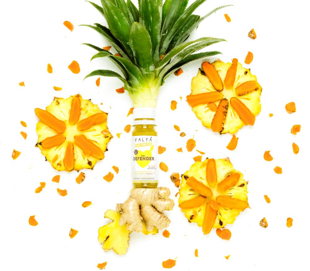 Turmenic pineapple