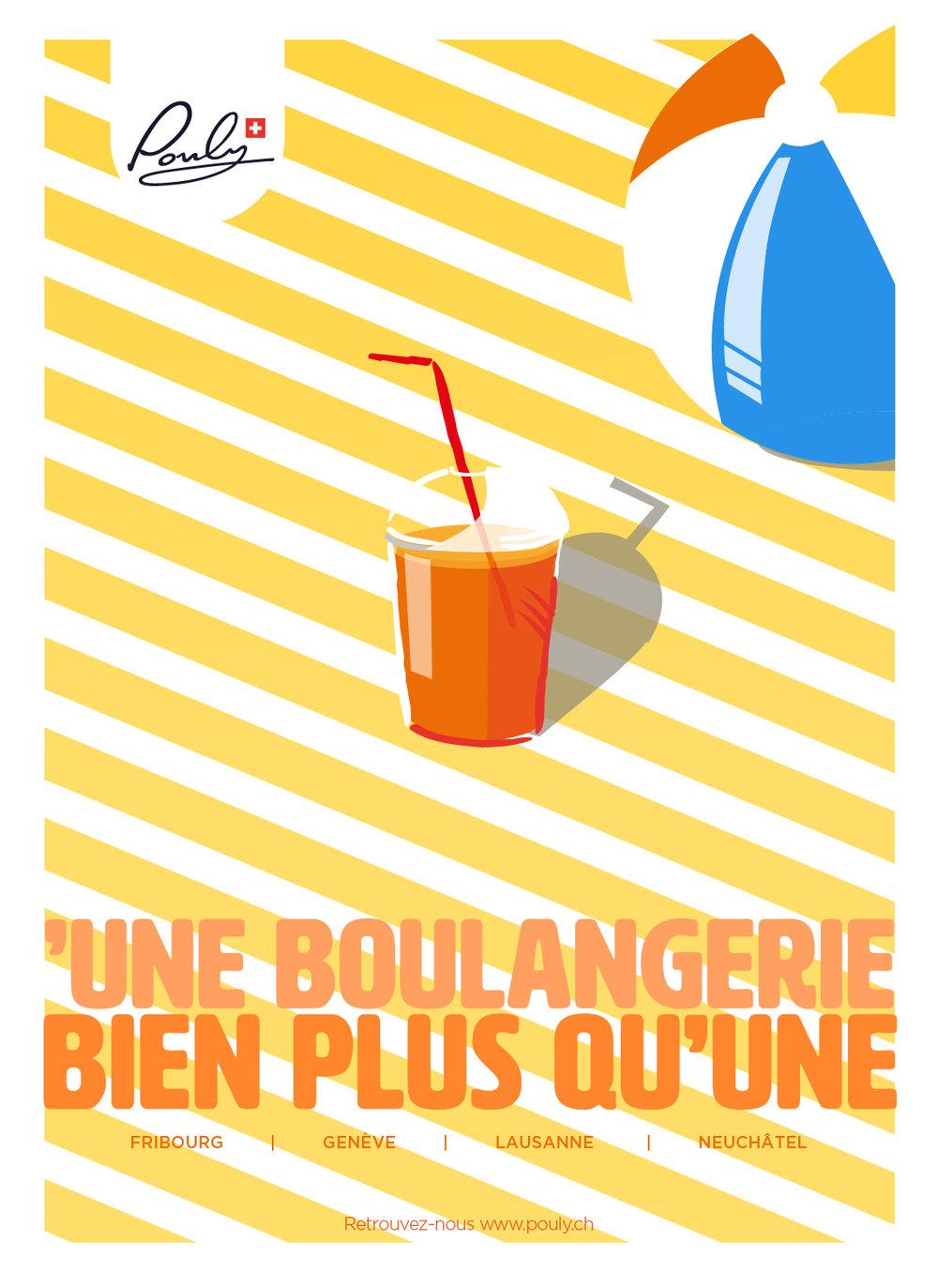 Poster Summer yellow