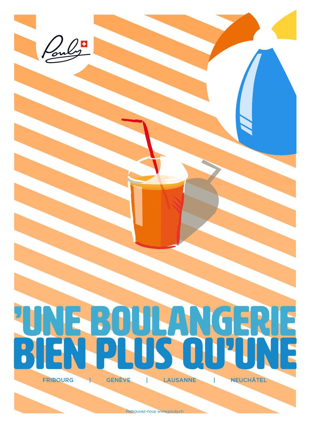 Poster Summer Orange