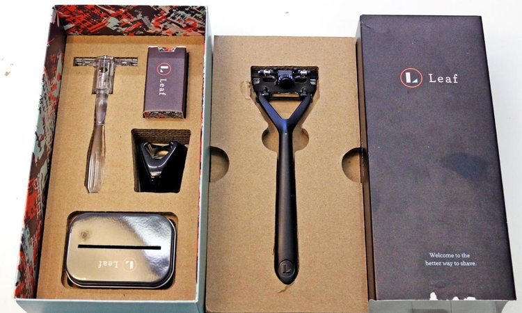 Leaf Shave launches eco-friendly metal razor in the UK — Bringo