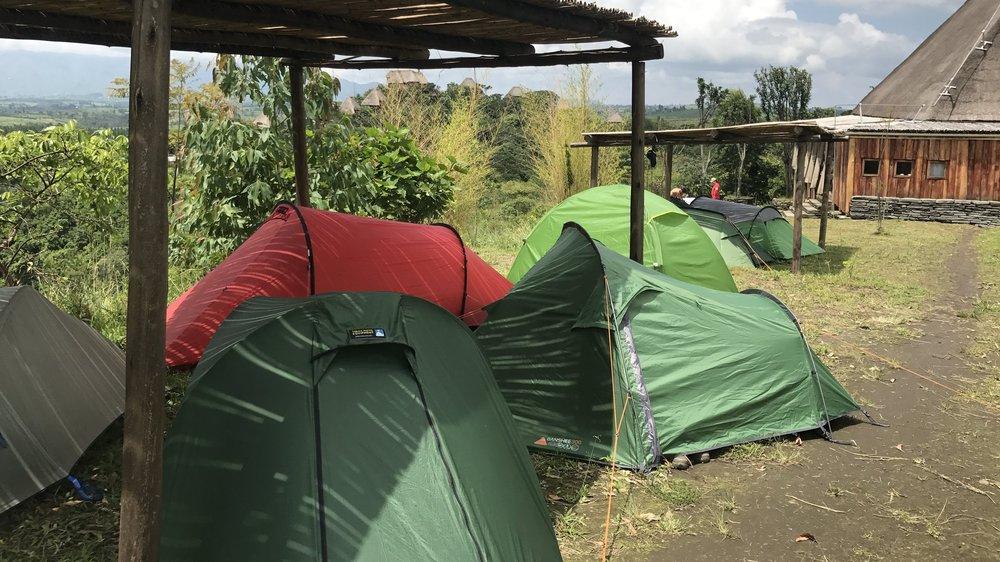 Cycle Uganda, Camping