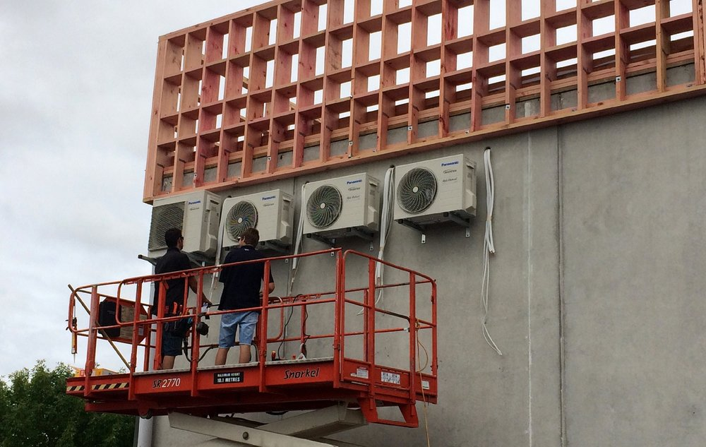 A commercial installation done in Te Rapa