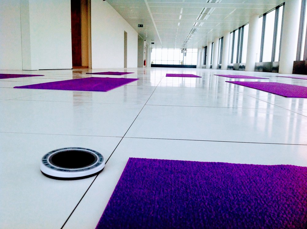 """Yoga at Your Office"" ©YouSoundGood™"