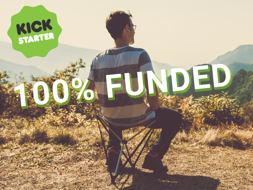 Our first Kickstarter campaign was successfully funded on December 28th 2018
