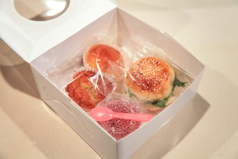 snack box burger & jelly