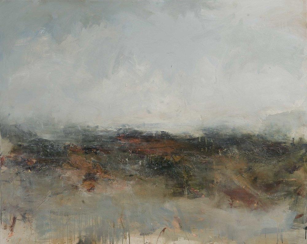 Elsewhere 120cm x 150cm oil on canvas