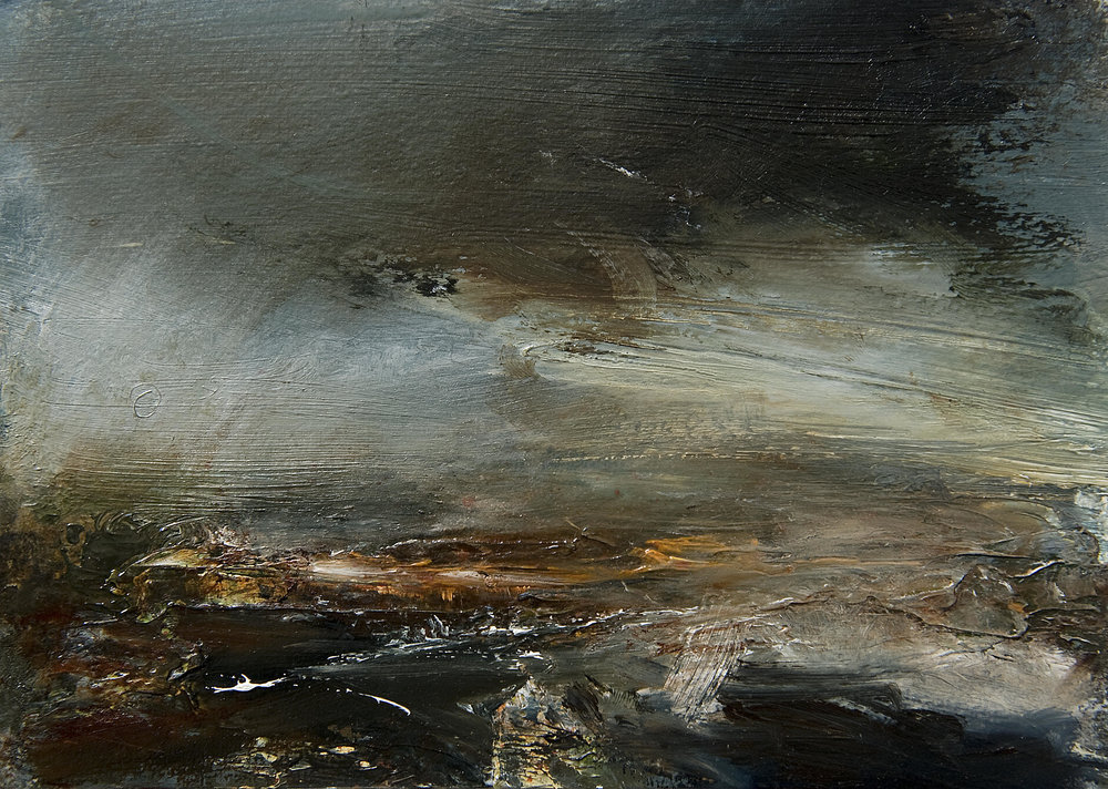 Landscape Study 158 15cm x 20cm oil on paper