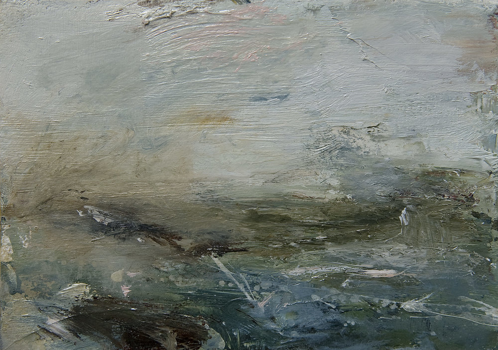 Landscape Study 173 15cm x 20cm oil on paper