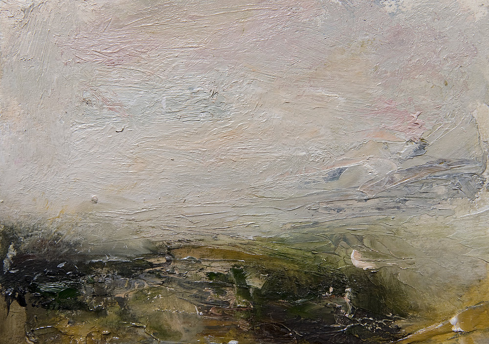 Landscape Study 172 15cm x 20cm oil on paper