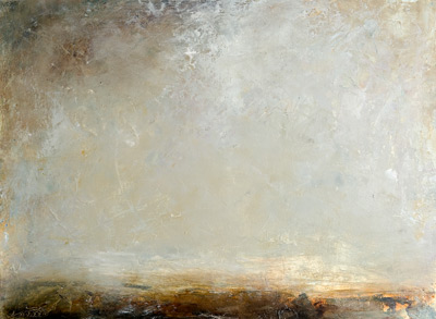 Vanishing oil on paper  56cm x 77cm 2013