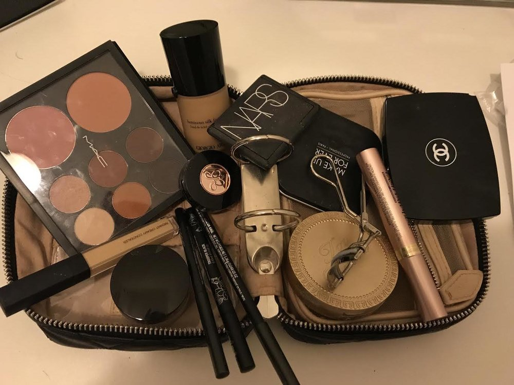 It's Skincare then Make-Up! - Eva shares a photo of her makeup planner by Trish McEvoy.
