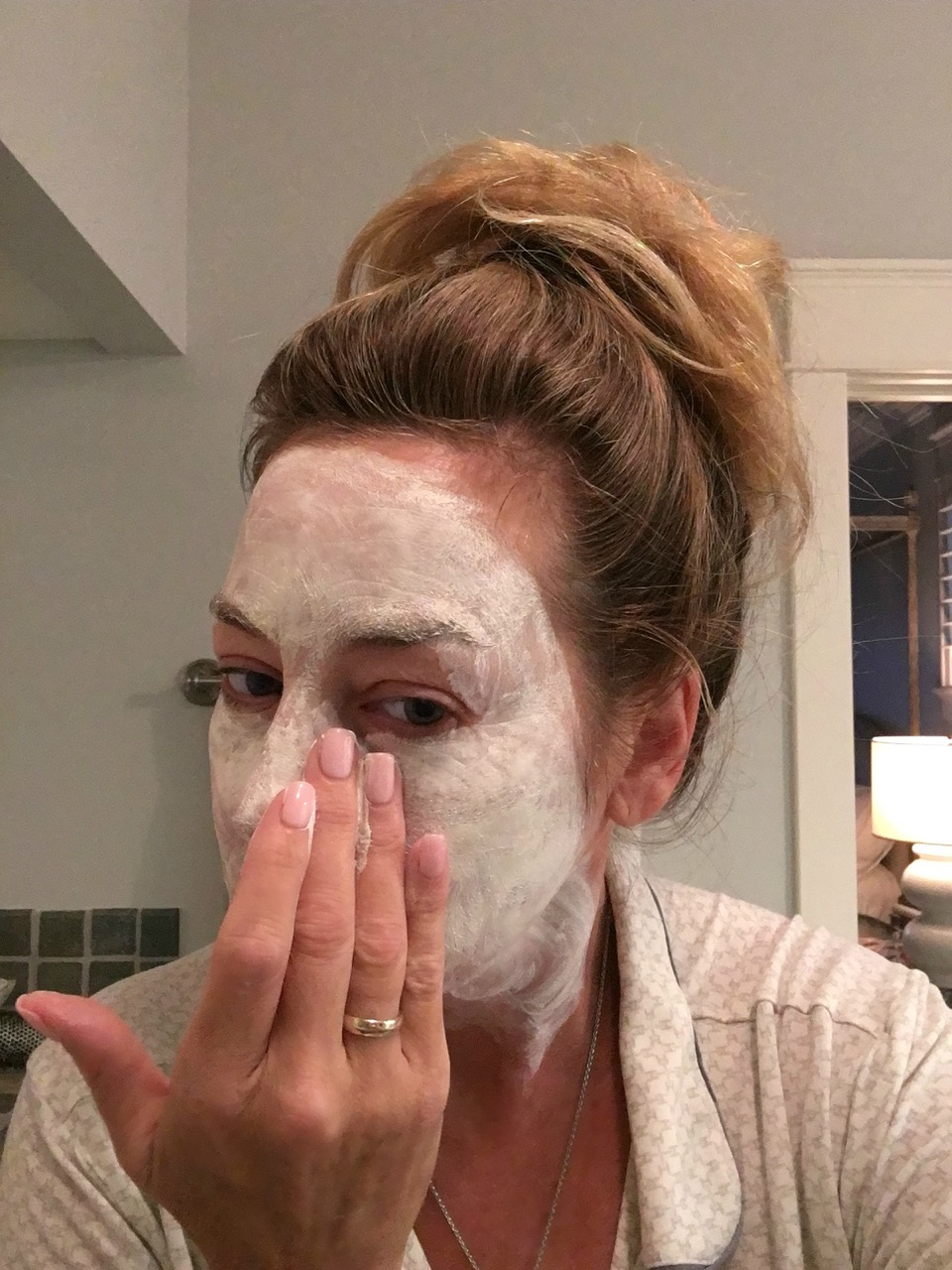 #SkinBabe Gwendolyn Rogers does a moisture mask at least once a week to keep her skin hydrated!