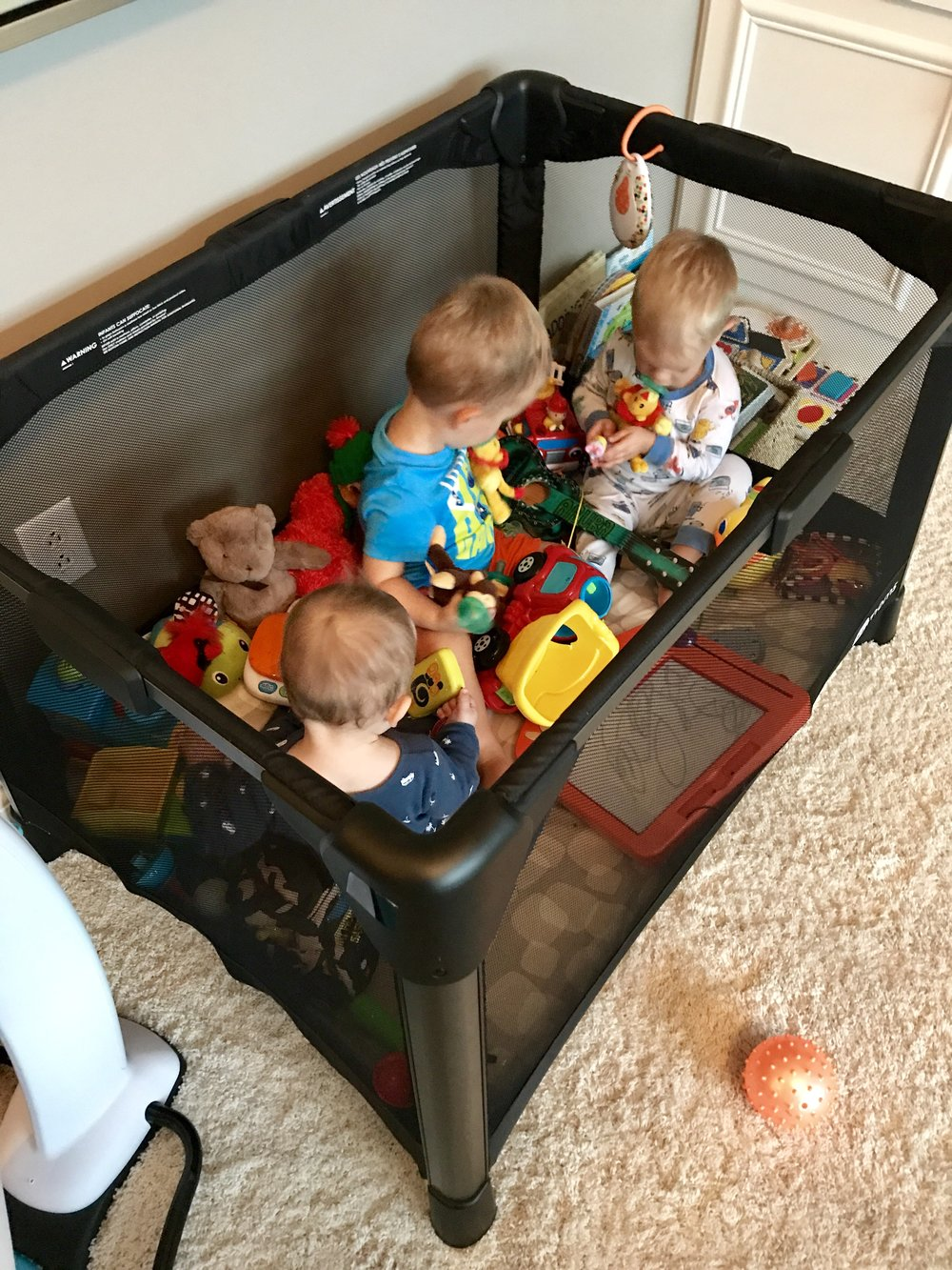 #SoManyBabies My rule: don't hang on to anything, it just depreciates!