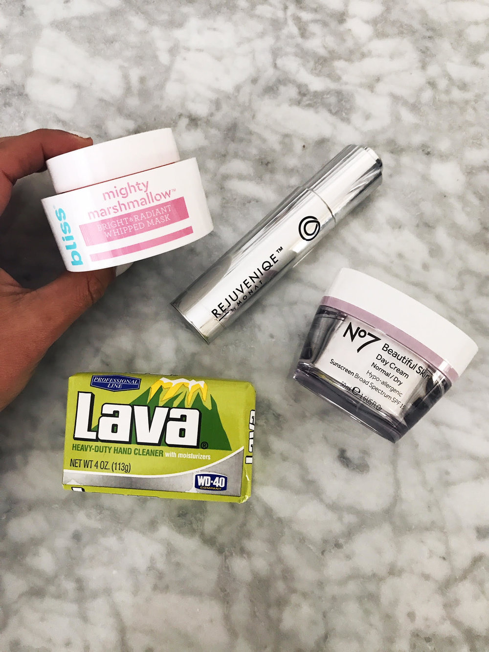 #SkinBabe Jessica Limeberry shares a photo of some of her favorite products!