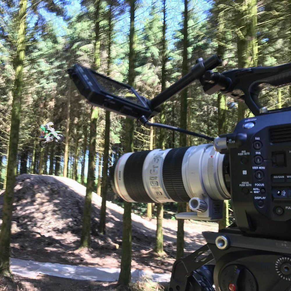 Sony FS7 Canon 70-200m lens