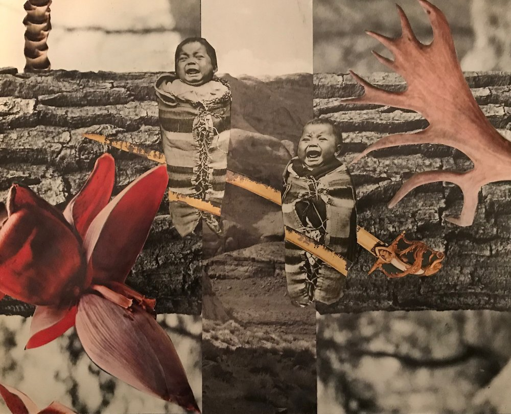"Collage (Winter)  from  Baby Pictures 8"" x 10"" 2018"
