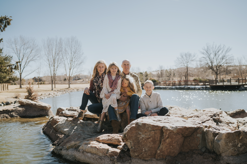 HUNT FAMILY - Grace's talent is evident in her body of work. What is not readily evident is the non-lens investment she makes it getting her subjects comfortable and happy to be documented. I haven't attempted family pics in years because it previously resulted in belligerent stares and kids hiding — there was absolutely none of that in this session... Even hubby managed to crack an authentic grin. Thank you, Grace, for showing my family their best selves and making us all look so lovely!