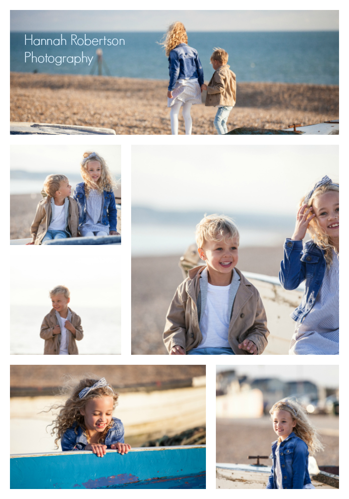 Family beach Photography. Ella in Seaford UK