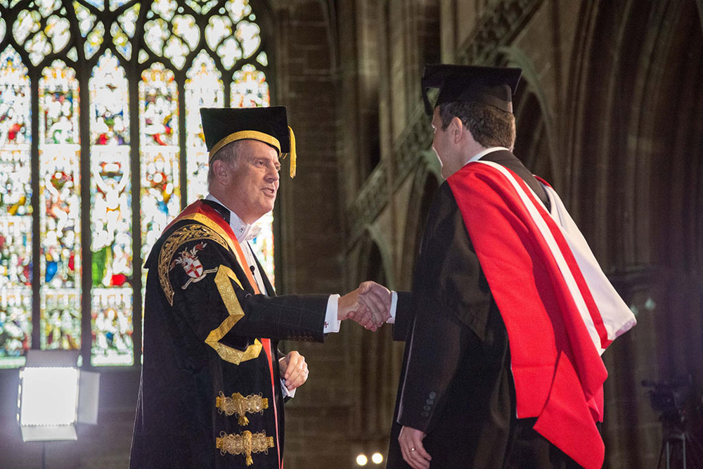 Gyles at the University of Chester