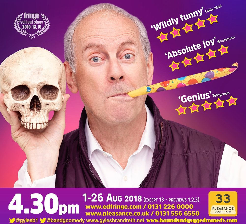 Break a leg! - 1st Aug 2018 - 26th Aug 2018Pleasance One - Pleasance Courtyard4:30pm