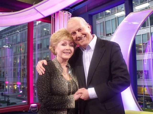 Debbie Reynolds with Gyles