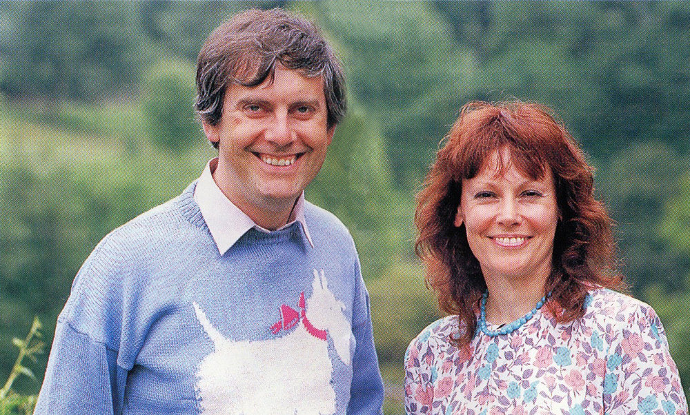 Gyles Brandreth and Michele Brown, Discovering Gardens, ITV, 1988-89
