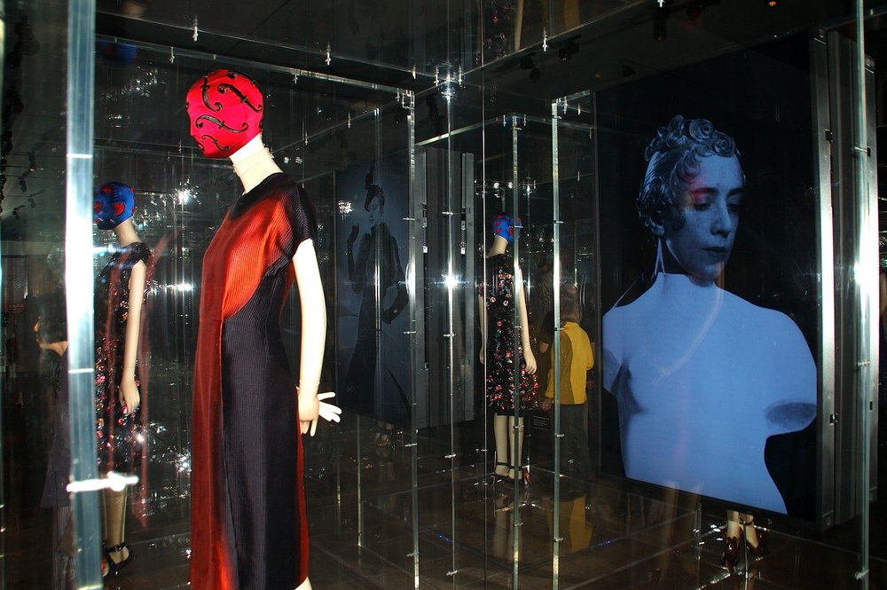 Prada dress with Schiaparelli image