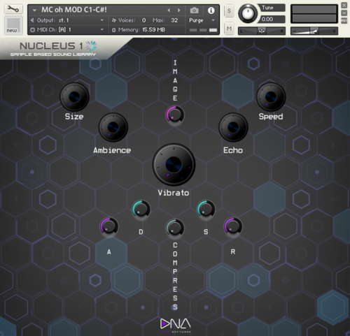 Kontakt Instruments — DNA Labs Software