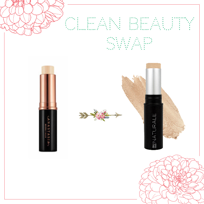 Au Naturale Stick Foundation Green Beauty Swap