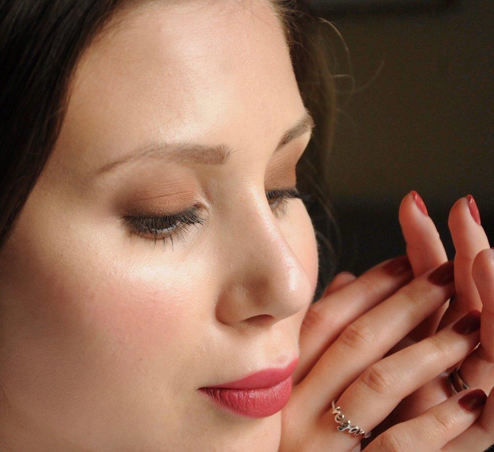 Fall Inspired Makeup Look Vegan Cruelty Free