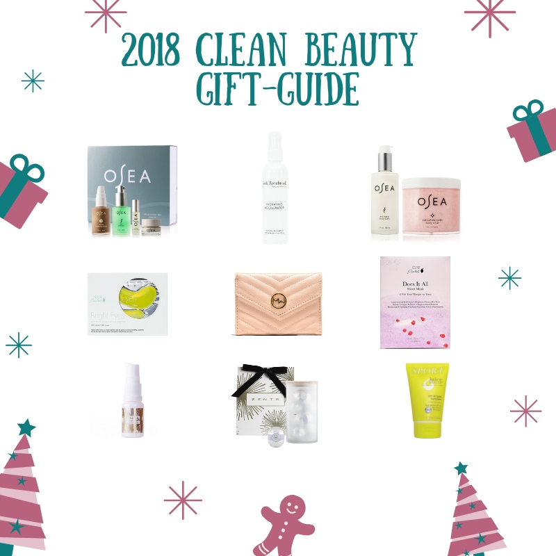 2018 Clean Beauty Gift Guide ( Green, Vegan, Cruelty-Free)